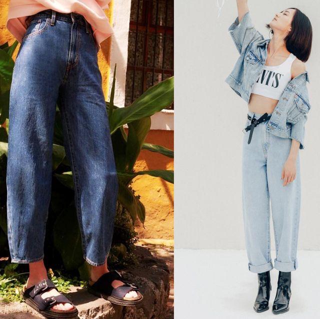 最能藏大腿肉的牛仔褲型號記起來!LEVI'S 推出全新「高腰繭型寬褲」  提臀又顯瘦 亞洲女生穿也好看