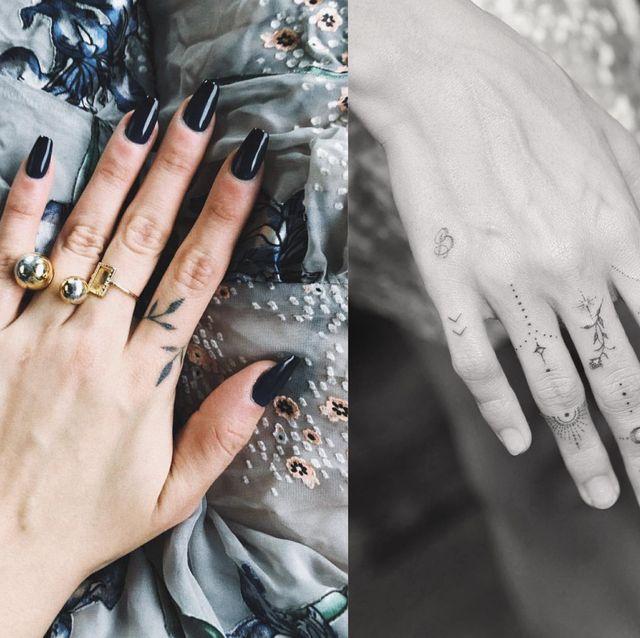 明星身上也愛的「手指刺青」圖案大公開!35款IG熱搜手部刺青靈感