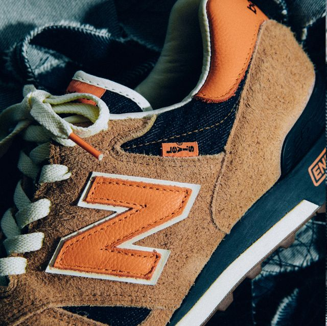 New Balance x Levi's 推出限量聯名球鞋!絕版牛仔布料打造復古運動鞋 丹寧控絕對要收藏