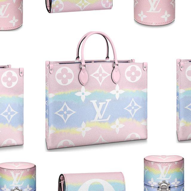 LOUIS VUITTON推出漸層皮革ESCALE系列 「天空藍+櫻花粉」紮染配色包包、皮夾