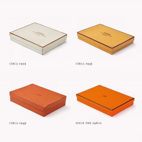 愛馬仕hermes 經典橘色盒子和紙袋的演變史