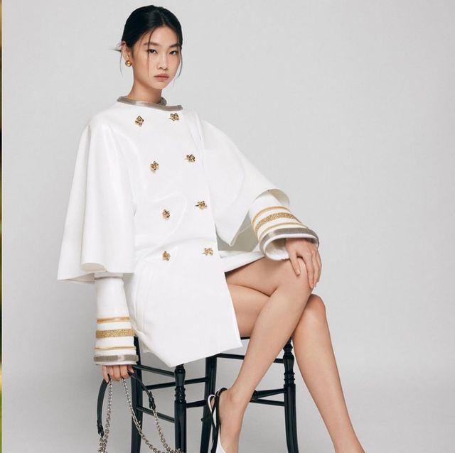 《魷魚遊戲》「姜曉」鄭浩妍爆紅成為lv品牌大使!176公分用韓國超模身分稱霸時裝週 私下穿搭也超圈粉