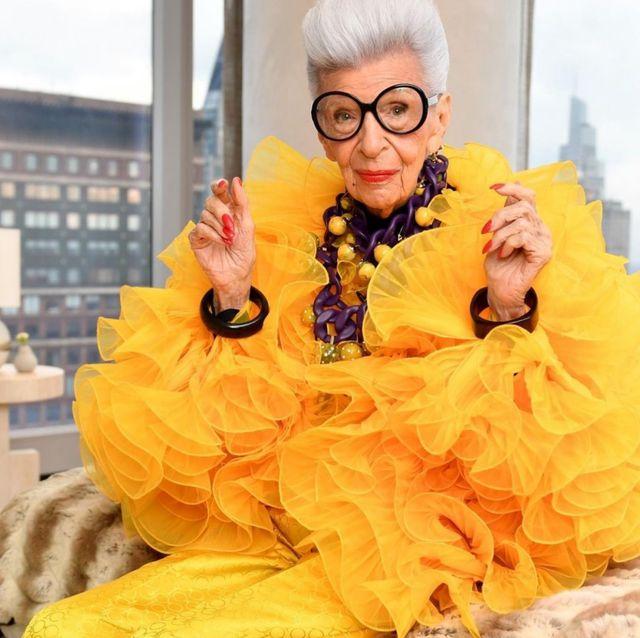 100歲時尚潮奶奶 iris apfel 攜手hm 推出聯名系列!活到老時髦到老的穿搭風格 你也能擁有