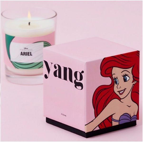SOOHYANG秀香推出「迪士尼公主系列」!「小美人魚香氛蠟燭」是櫻花木質香調,甜而不膩