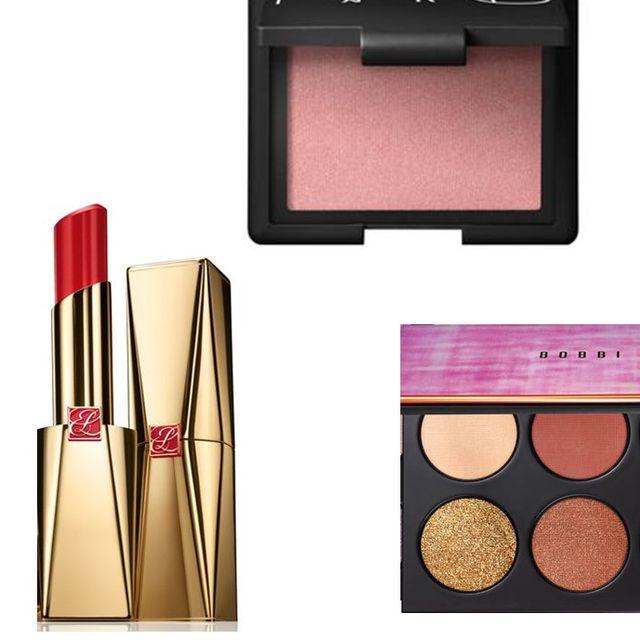 Cosmetics, Face powder, Eye shadow, Product, Beauty, Pink, Peach, Eye, Material property, Powder,