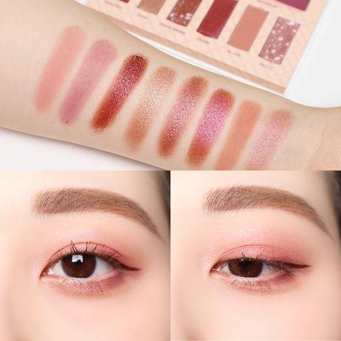 春夏5款「粉紅裸棕、櫻花裸粉」眼影推薦