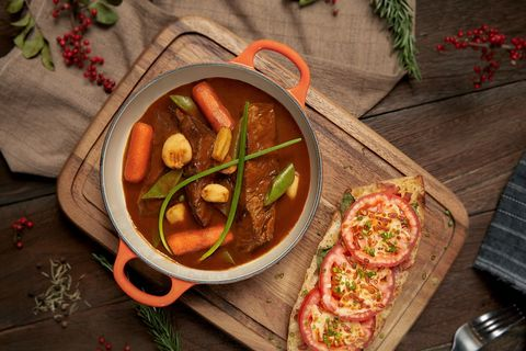 Dish, Food, Cuisine, Ingredient, Produce, Recipe, Vegetarian food, Meat, Soup, Meal,
