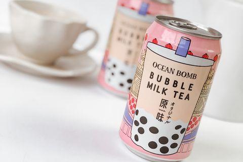 罐裝珍珠奶茶