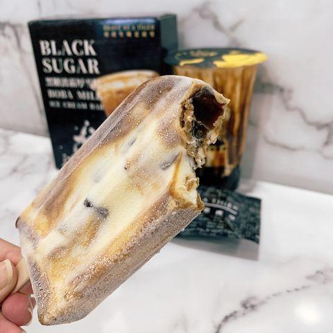 老虎堂黑糖專賣推出新品冰棒!「黑糖波霸厚雪糕」咬的到Q彈珍珠+黑糖香