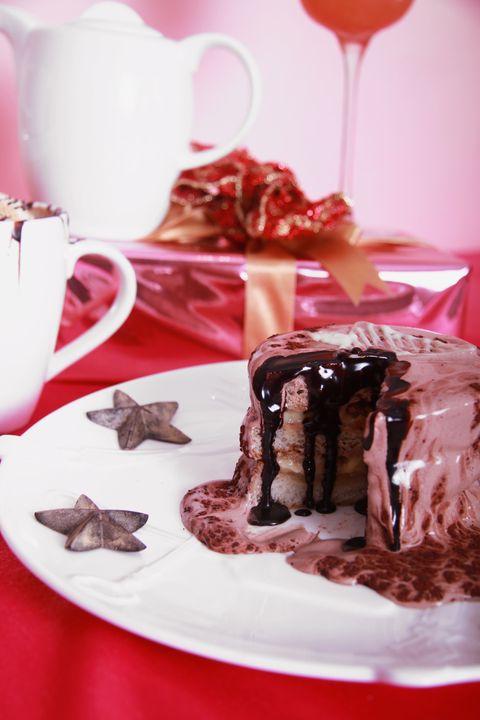 Food, Dish, Cuisine, Chocolate brownie, Dessert, Chocolate cake, Ingredient, Chocolate, Fudge, Semifreddo,