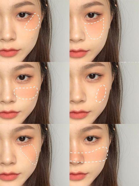 圓臉、長臉腮紅畫法5款「蜜桃奶茶色」專櫃腮紅推薦