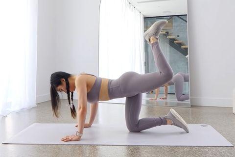 10組「蜜桃臀+瘦腰運動」推薦