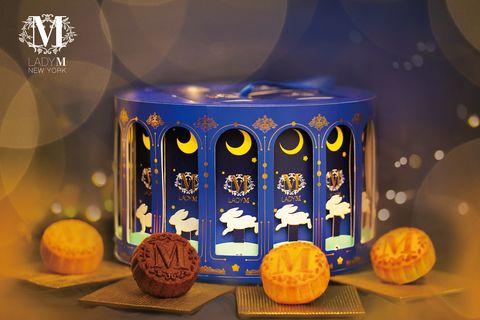 Lady M舞夜嬉月奶皇月餅禮盒