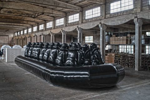 Furniture, Inflatable, Tire, Building, Automotive tire, Steel,