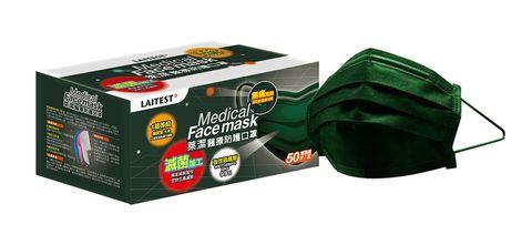 萊爾富912中午搶先開賣3萬盒「軍墨綠」醫療口罩