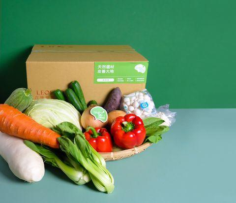 2021防疫食材箱 六福首選蔬菜箱