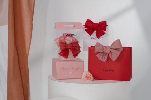 2021母親節滿額禮盒:蘭蔻幸福蝴蝶結包裝服務
