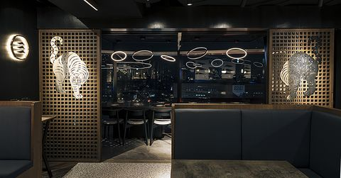 奢豪夜景配韓式燒肉!頂級韓食餐酒館《虎三同》開幕,亞洲五十大酒吧bar mood taipei進駐