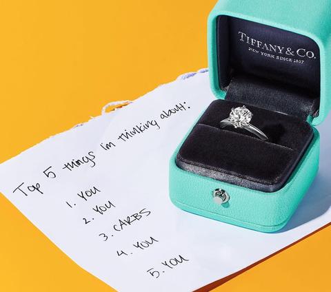Tiffany,Tiffany & Co.,戒指,鑽戒,推薦,蒂芬妮,蒂芬妮藍, 婚戒,婚禮,求婚,珠寶,六爪鑽戒, Tiffany Blue