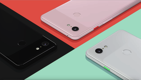 Google,pixel3,手機,外型