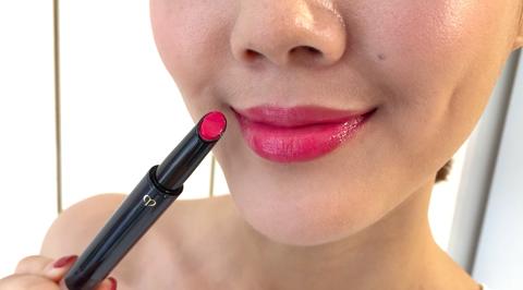 Lip, Face, Cheek, Pink, Skin, Nose, Lipstick, Beauty, Lip gloss, Chin,