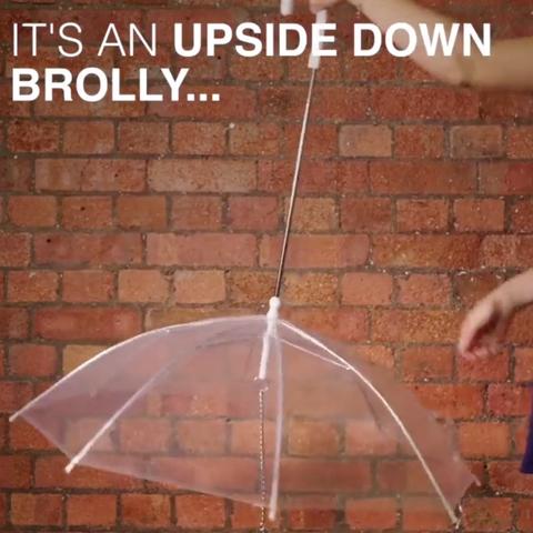 Umbrella, Brick, Brickwork, Fashion accessory,