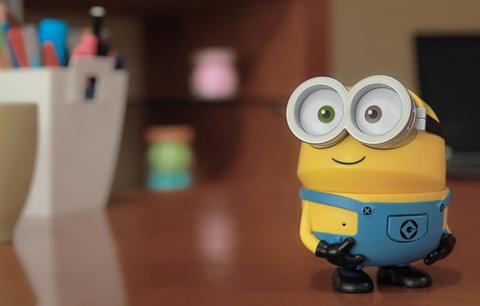 Toy, Product, Yellow, Action figure, Baby toys, Animation, Figurine, Smile,