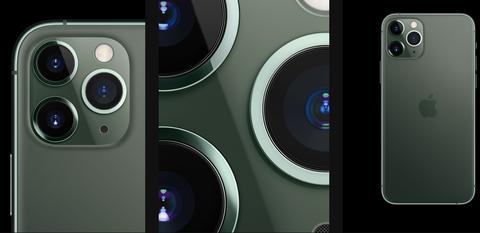 iPhone 11 Pro Max、iPhone 11 Pro綠色