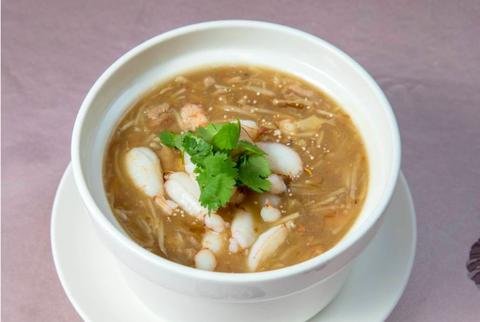 錦霞樓蟹肉海鮮羹湯