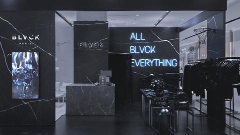 法國潮流精品blvck攜手whte在信義遠百a13打造全新黑白概念期間限定快閃店
