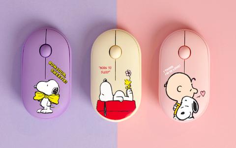 紫色黃色粉色造型滑鼠