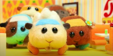 你上車了沒?看完《天竺鼠車車》好想擁有一臺!3款能親手做的超療癒天竺鼠羊毛氈