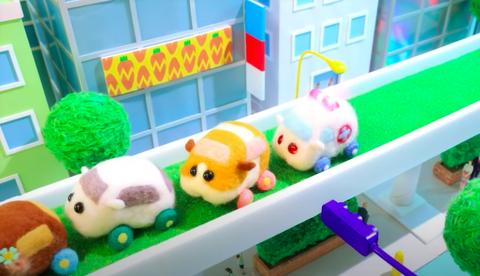 看完《天竺鼠車車》好想擁有一臺?3款手殘者也能上手的「天竺鼠羊毛氈」引爆手作魂啦!