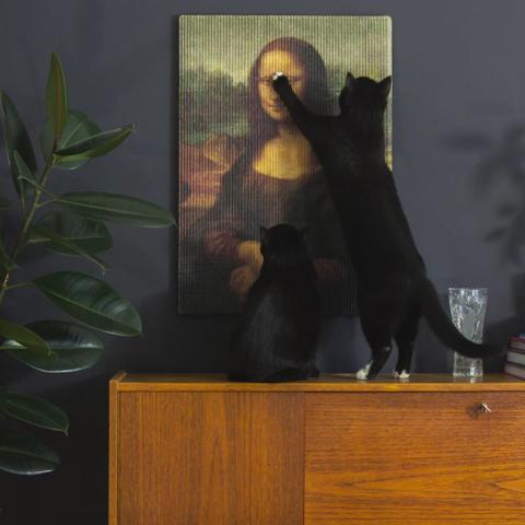 15款超趣味「貓抓板」特輯:煞氣的浮世繪、佛祖貓專用、富士山抓板