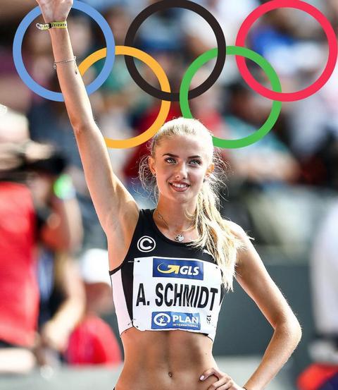 德國田徑美少女 alica schmidt 出戰東京奧運被封「全球最性感運動員」