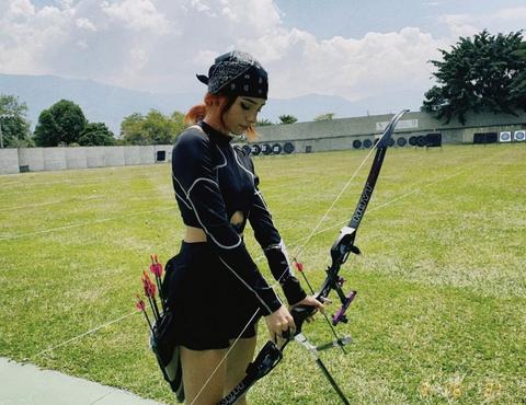 2020 東奧射箭 哥倫比亞 女神級箭手 valentina acosta girald