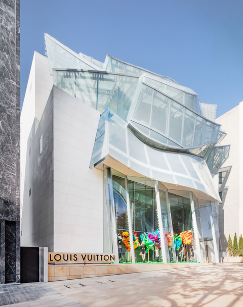 Louis Vuitton首爾旗艦店 Frank Gehry
