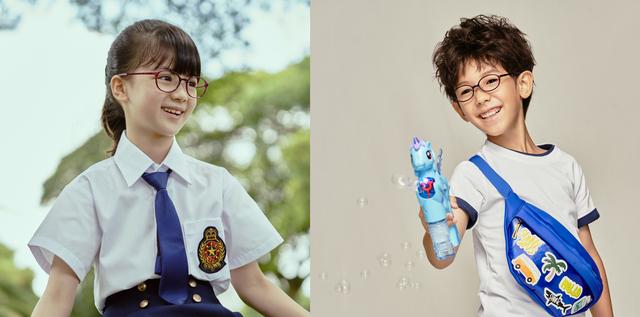 jins學齡眼鏡