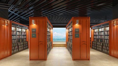 Building, Door, Architecture, Room, Interior design,