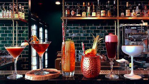 Bar, Drink, Alcoholic beverage, Distilled beverage, Liqueur, Cocktail, Barware, Bartender, Alcohol, Daiquiri,