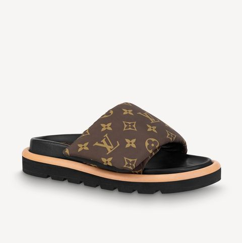 時髦精品平底拖鞋