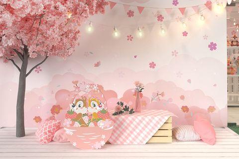 2020【迪士尼櫻花季期間限定店】奇奇蒂蒂、小鹿斑比、瑪麗貓、小飛象