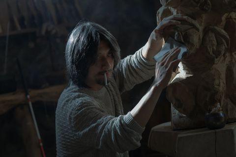 《誰是被害者》鄭人碩一人分飾兩角