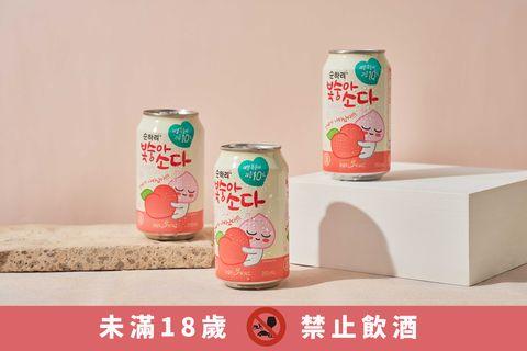 kakao friends聯名款「水蜜桃沙瓦」超萌登場!可愛包裝+水蜜桃果香讓你享受清爽微醺滋味