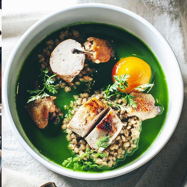 主廚James Sharman以一道菜代表一個國家的料理特色,卻又不失自身的料理風格與台灣食材的聯結!