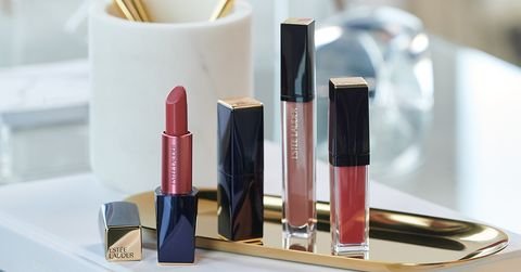 Lipstick, Cosmetics, Red, Product, Beauty, Pink, Lip gloss, Material property, Gloss, Tints and shades,
