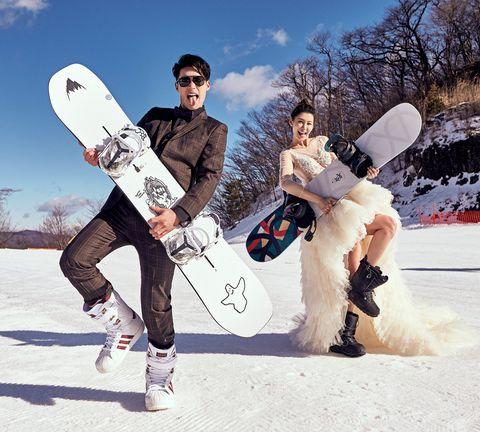 許孟哲、趙孟姿到日本拍婚紗