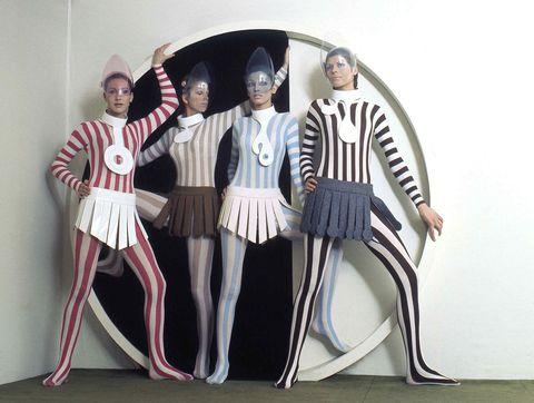 皮爾卡登pierre cardin未來感主義時裝設計系列