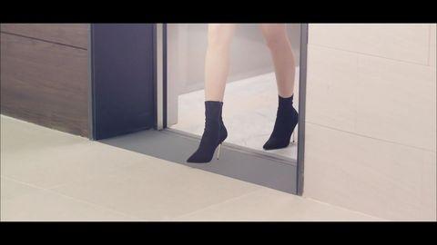 Footwear, Shoe, Leg, High heels, Human leg, Ankle, Boot, Joint, Floor, Fashion,