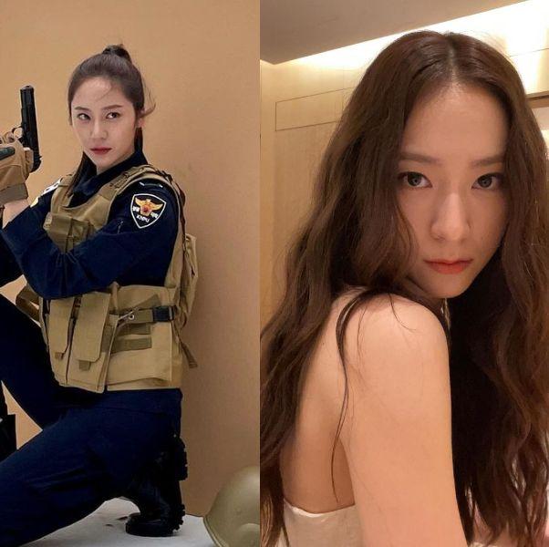 《警察課程》鄭秀晶保養